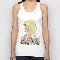 lucy Tank Tops featuring Lucy by carotoki art and love
