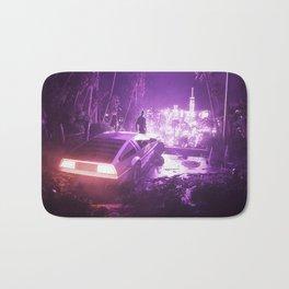 TIMEOUT | by RETRIC DREAMS Bath Mat