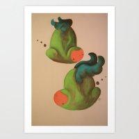 koopa troopas on a day off Art Print