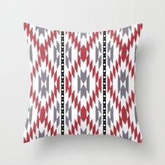 Ethnic rug pattern Throw Pillow