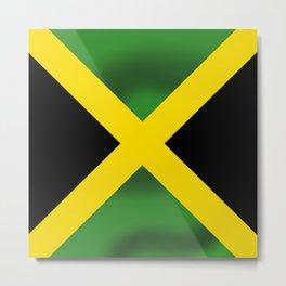 Jamaican Flag Metal Print