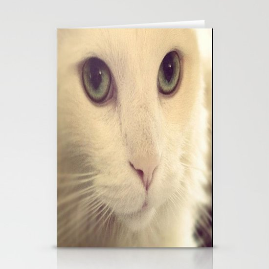 pretty eyes Stationery Cards