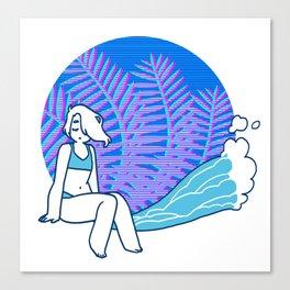 Tropical Vibez Canvas Print