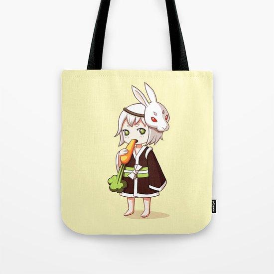Bunny Mask Tote Bag