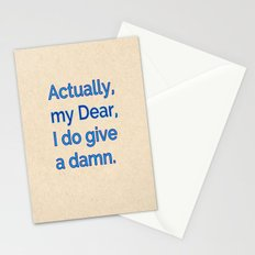 Actually, My Dear Stationery Cards