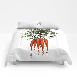 I Don't Carrot All (Color) Comforters