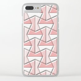 Geometrix XLVI Clear iPhone Case
