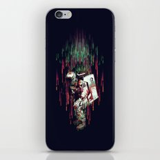 Falling from the Space iPhone & iPod Skin