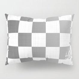 Chequered Flag Grunge Pillow Sham