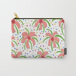 Tropical Fiesta Flowers Carry-All Pouch