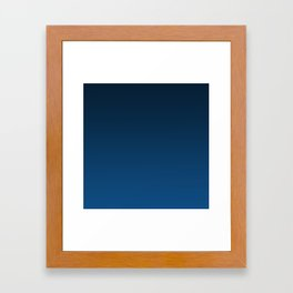 Shades of PANTONE Classic Blue Color Of The Year 2020 Framed Art Print
