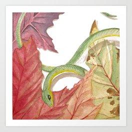 Snake Boi Art Print