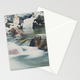 a mountain river ... Stationery Cards
