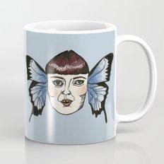 butterfly lady. Mug