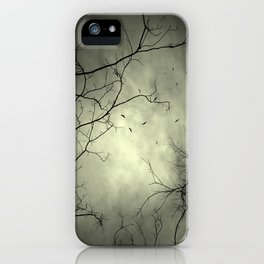 Spooky Kettle of Turkey Vultures iPhone Case