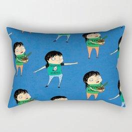 Rattail Steve Pattern Rectangular Pillow