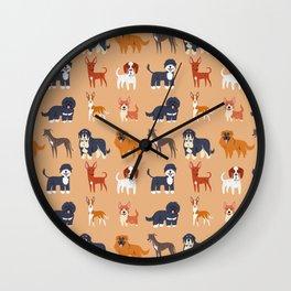 IBERIAN DOGS Wall Clock