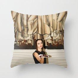 Cheri, Cheri Lady Throw Pillow