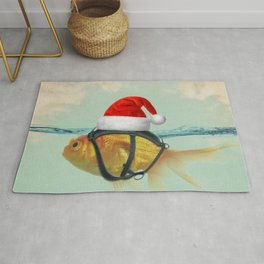 A Brilliant Disguise Christmas Rug