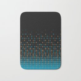 Binary Speed Bath Mat