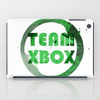 xbox iPad Cases featuring Team XBox by Bradley Bailey