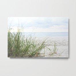 Bal Harbour Peaceful Beach, Florida Metal Print