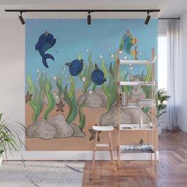 little aquarium Wall Mural