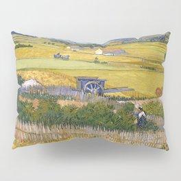 1888-Vincent van Gogh-The harvest-73x92 Pillow Sham