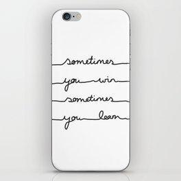 Sometimes iPhone Skin