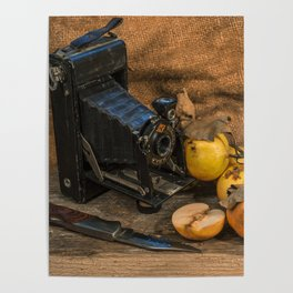 Agfa and Apples Poster