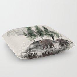 Full Moon Rising Floor Pillow