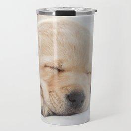 Young Labrador sleeping Travel Mug