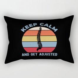 Funny Chiropractor Rectangular Pillow
