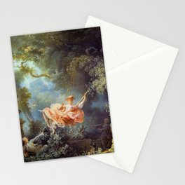 Jean-Honoré Fragonard - The Swing Stationery Cards