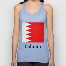 bahrain flag Unisex Tank Top