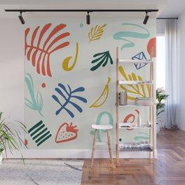 Vintage Plants Wall Mural