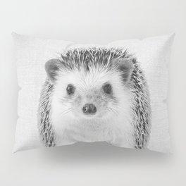 Hedgehog - Black & White Pillow Sham