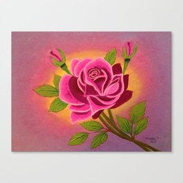Rose for you Canvas Print