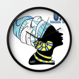 BlackQueen (Blue) Wall Clock