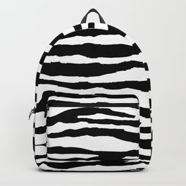 Zebra Stripes Backpack