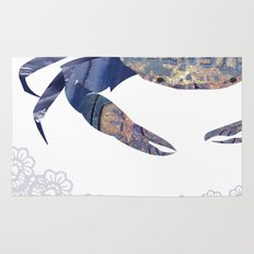 Manhole Crab with Lace Rug