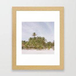 Tulum, Mexico Framed Art Print