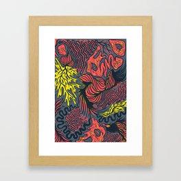 DECEMBLOB Framed Art Print