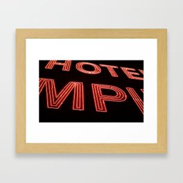 Hotel Empire, New York City Framed Art Print