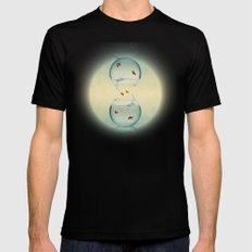 Goldfish Infinity Mens Fitted Tee Black X-LARGE