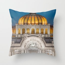 Bellas Artes 1 Throw Pillow