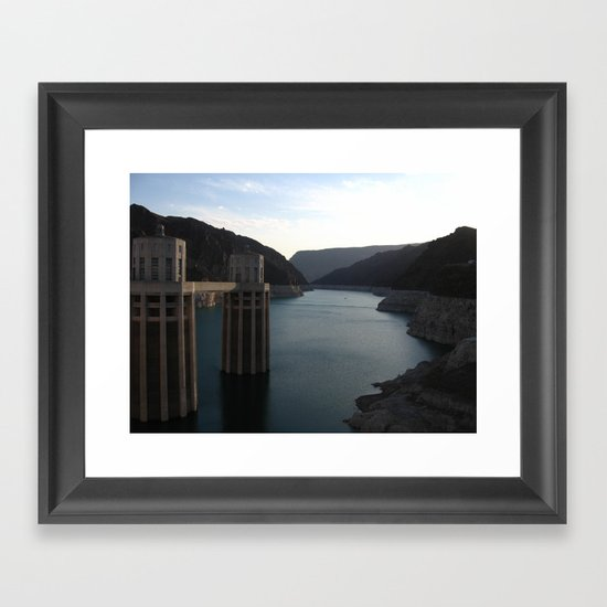 Hoover Dam II Framed Art Print