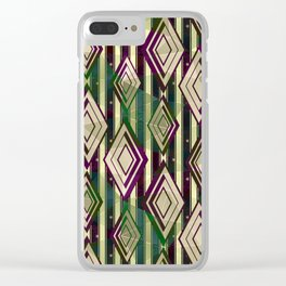 Abstract geometric pattern.3 Clear iPhone Case