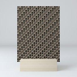 abstract  scape pattern Mini Art Print
