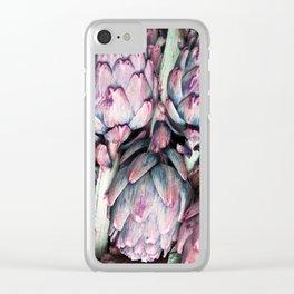 Artichoke Clear iPhone Case